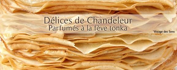 Crêpes parfumées à la fève de tonka