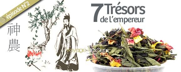Thé parfumé: 7 trésors de l'empereur découvertes des thés Ep.02