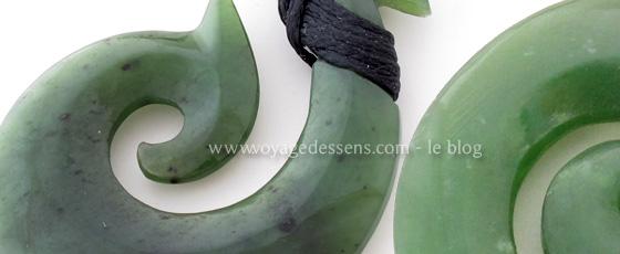 Pendentif Moari jade - Escale Sensorielle