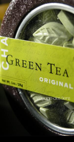 Bonbons au thé vert sencha - Escale Sensorielle