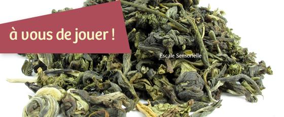 Gagnez 25g de thé vert Mont Huang