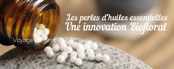 Perles d'huiles essentielles Biofloral utilisation vertus