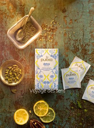 Détox citron Pukka infusion